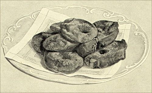 Serving of Traditional Apple Fritters