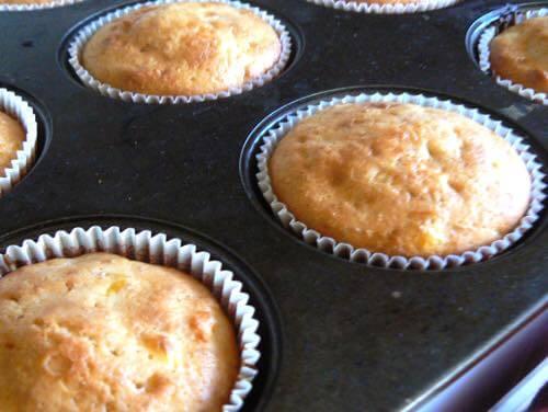 Baked Cornbread Muffins