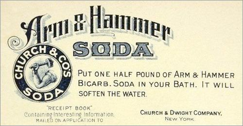 Arm & Hammer Baking Soda Ad - c.1900
