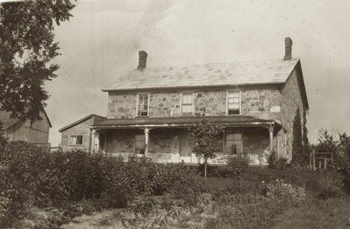 House Built of Fieldstone in 1830s