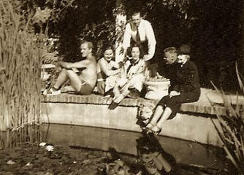 Berenice Harley Korshet with Friends