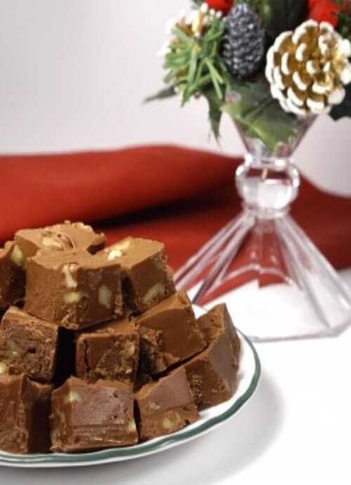 Chocolate Christmas Fudge