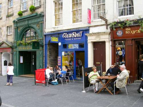 The ClamShell Fish & Chip Shop, Royal Mile, Edinburgh