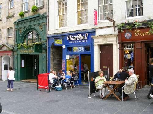 The ClamShell Fish & Chip Shop, Royal Mile, Edinburgh