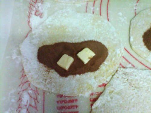 Add Cocoa, Sugar and Butter
