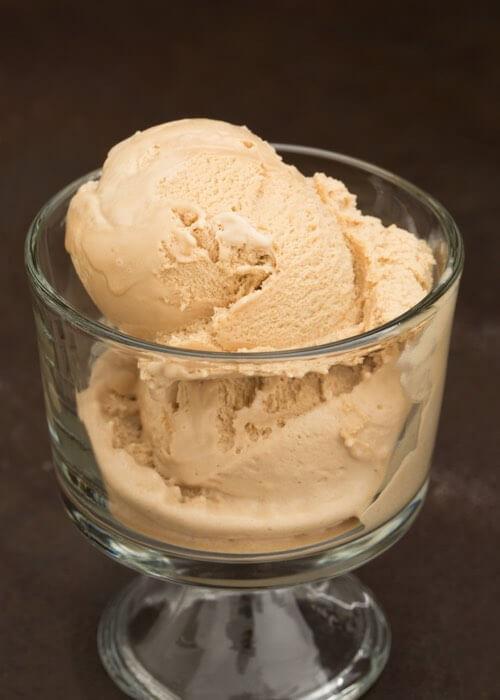 Homemade Coffe Ice Cream