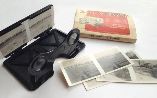 Coronet 3D Viewer and Stereo Prints