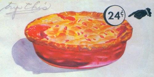 Deep Dish Ruby Pie