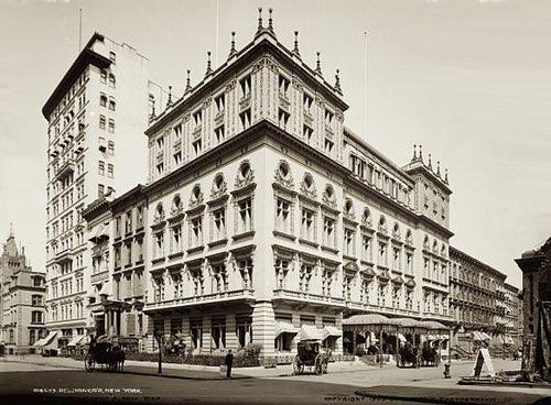 Delmonico's Restaurant, New York City, c.1903