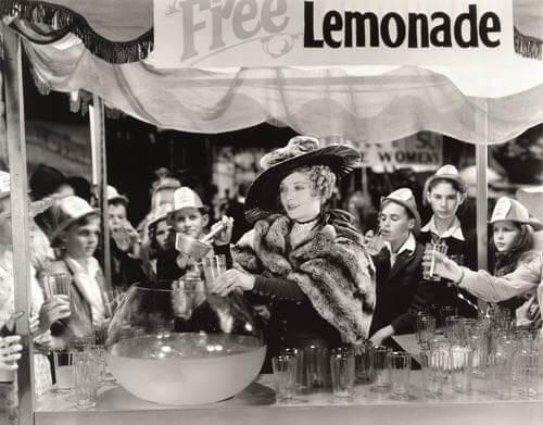 Free Lemonade Beverage
