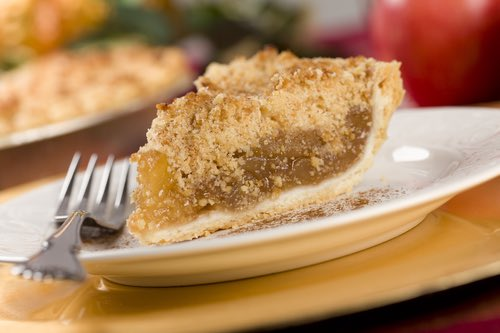 Slice of French Apple Pie