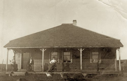 Archibald Gentles Family Homestead, Dogpound, Alberta