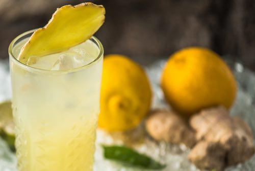 Ginger Ade Moctail Drink