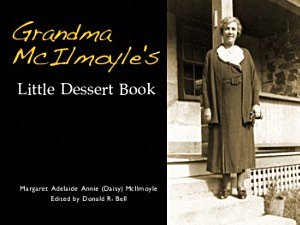 Grandma's Little Dessert Book Cover