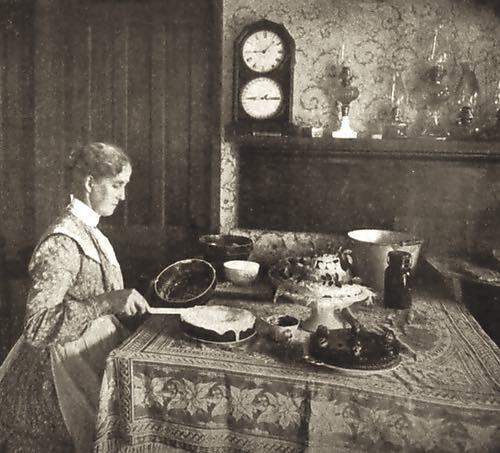 Homemade Cake Icing 1890s