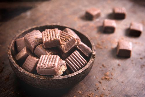 Homemade Caramel Candy