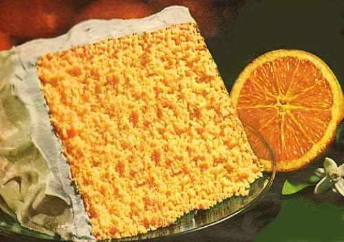 Homemade Orange Cake