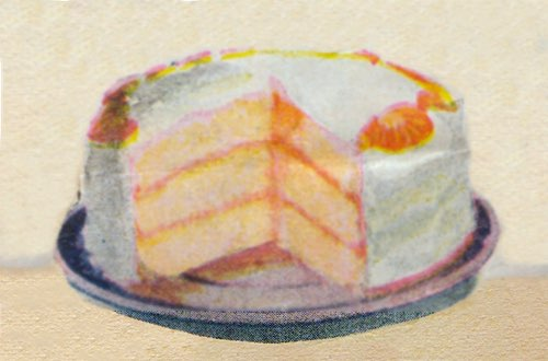 Simple Orange Dessert Cake
