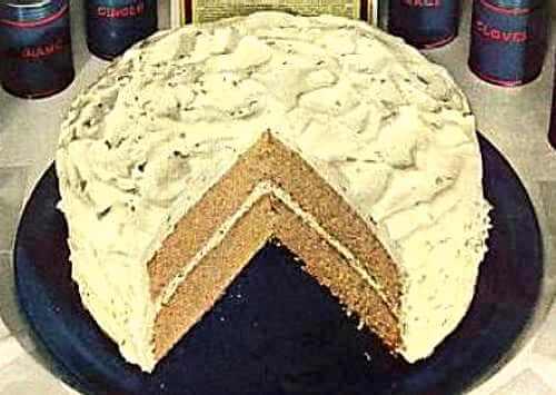 Spice Cake Illustration