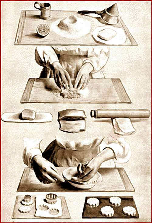 Step-By-Step Illustration Showing How To Make Puff Pastry