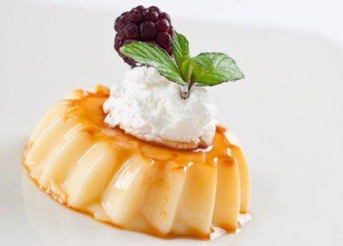Homemade Italian Caramel Cream Dessert