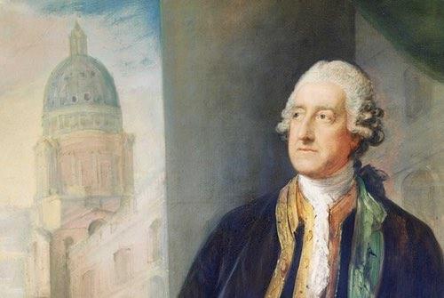 Gainsborough Portrait of John Montagu, 4th Earl of Sandwich