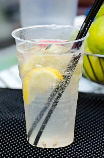 Homemade Lemonade Drink