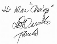 Hi Don, Amigo, Leo Carrillo (Pancho) Autograph