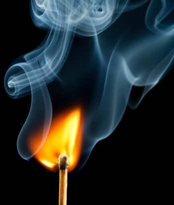 Safely Light an Oil Lamp