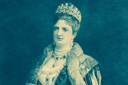 Queen Margherita di Savoia of Italy