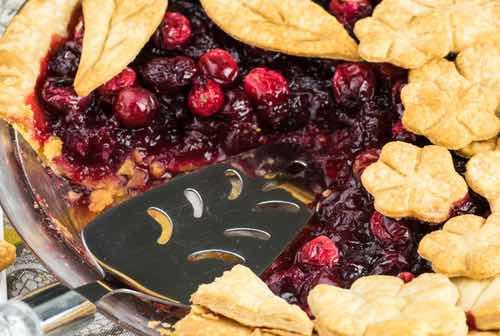Cranberry Mock Cherry Pie