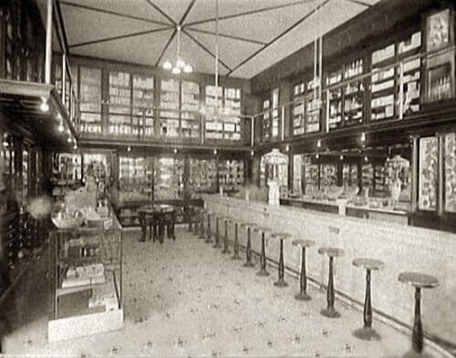 Old Fashioned Pharmacy Soda Fountain