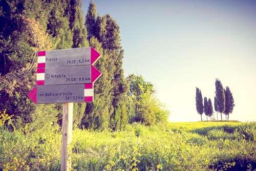 Pienza in Tuscany, Italy
