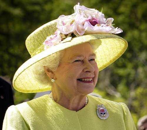 NASA Photograph of HM Queen Elizabeth II, the Queen of Canada