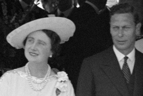 Queen Elizabeth and King George VI