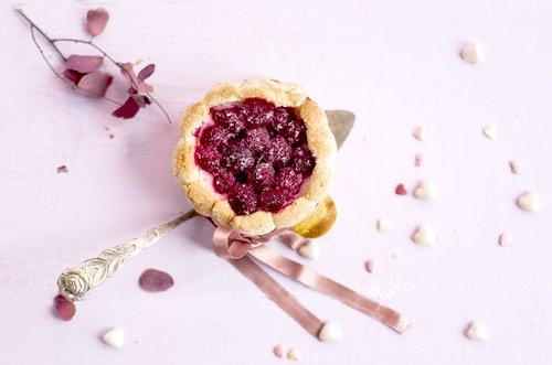 Homemade Raspberry Tart