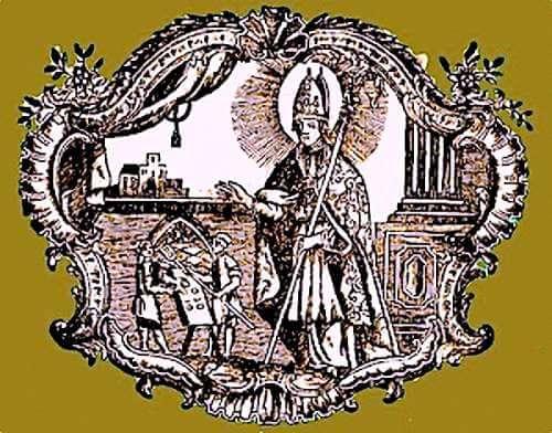 Saint Honoratus, Patron Saint of Bakers and Namesake of Gateau Saint Honore