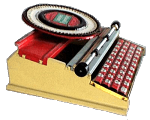 Simplex Typewriter ca. 1955