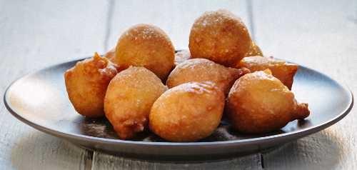Homemade Spanish Fritter Puffs