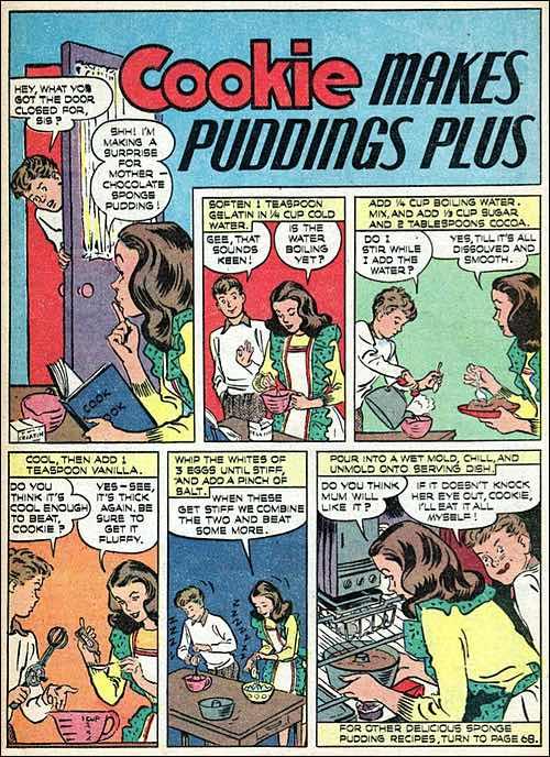 Sponge Pudding Recipe