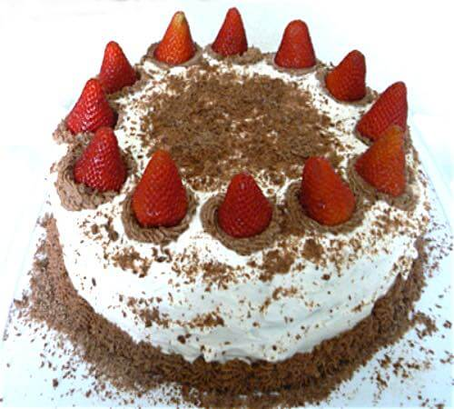 Strawberry Forest Cake