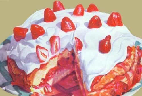 Strawberry Surprise Shortcake