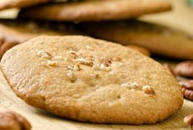 Butter Pecan Cookies with Chopped Pecans