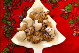 Lebkuchen Cookies for Christmas