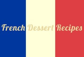 Flag of France - Dessert Recipes