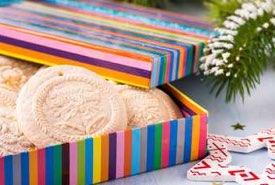 Gift Box of Homemade Springerle Cookies