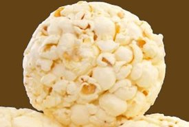Homemade Popcorn Ball