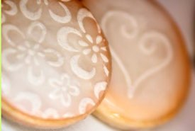 Decorated Icebox Cookies