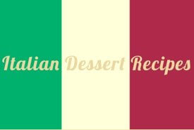 Flag of Italy - Dessert Recipes