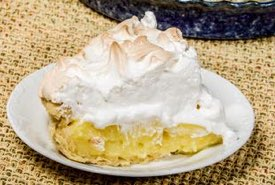 Homemade Lemon Pie with Meringue